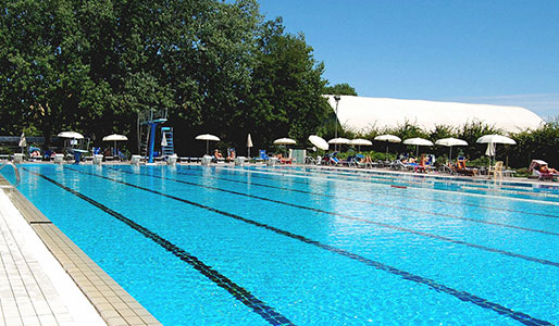 Outdoor Pool Milan