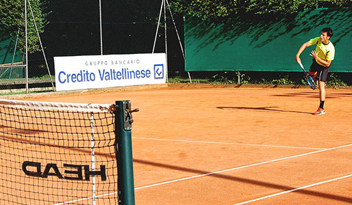Outdoor tennis Milan