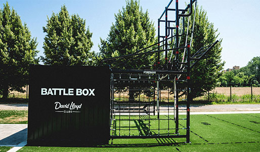 BATTLEBOX at David Lloyd Malaspina